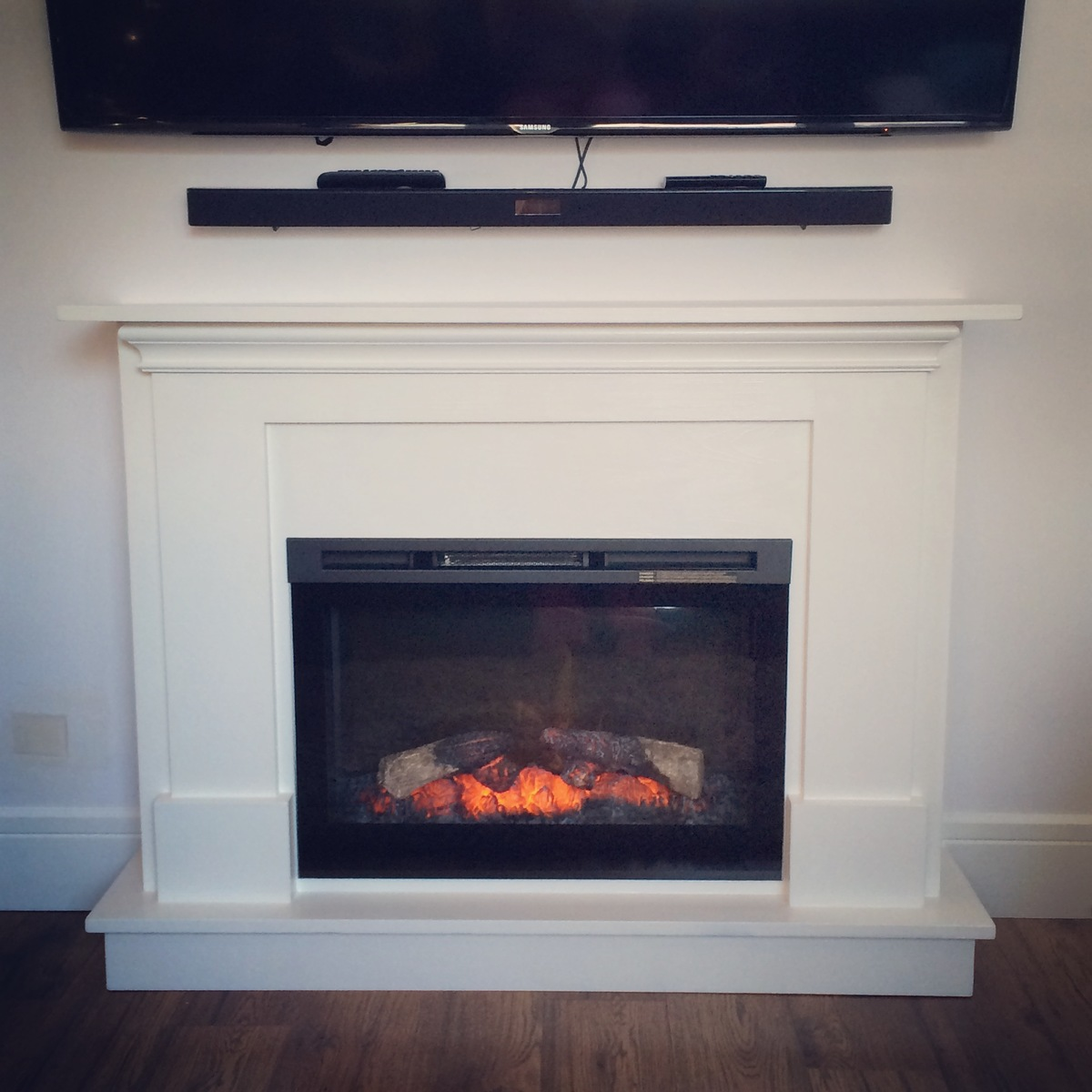 projects how white electric furniture fireplace and diy image to ana a make mantel surround