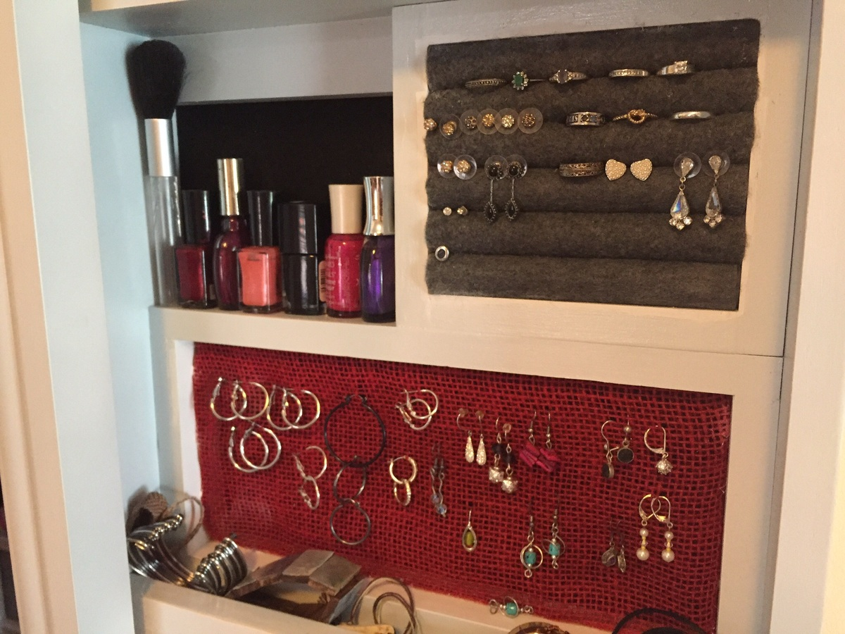 Ana White Jewelry Makeup Storage Cabinet Diy Projects