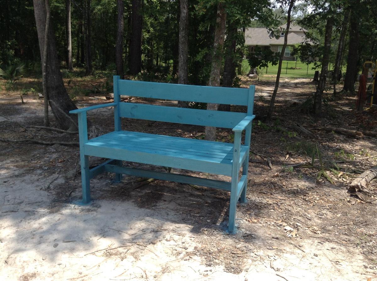 Outdoor Bench | Ana White