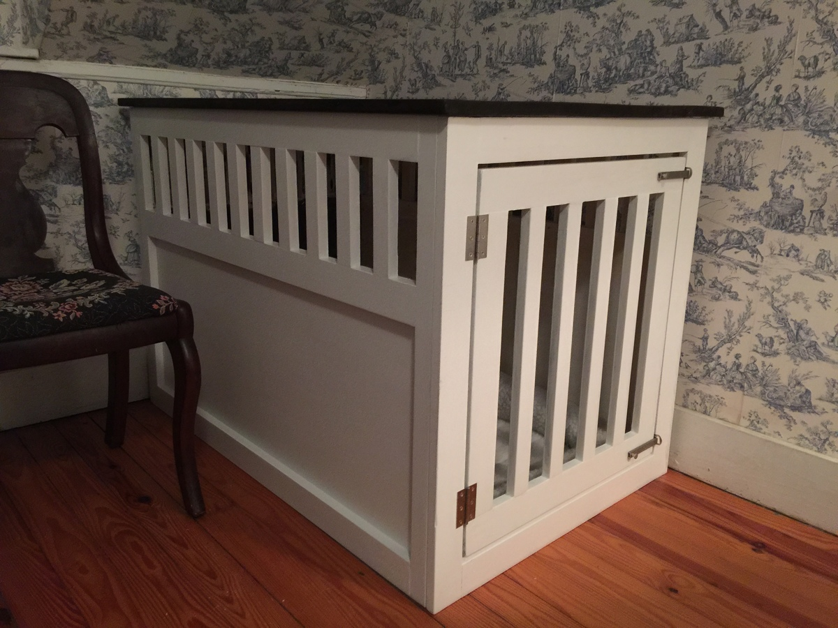 Ana White Extra Large Wood Pet Kennel End Table Diy