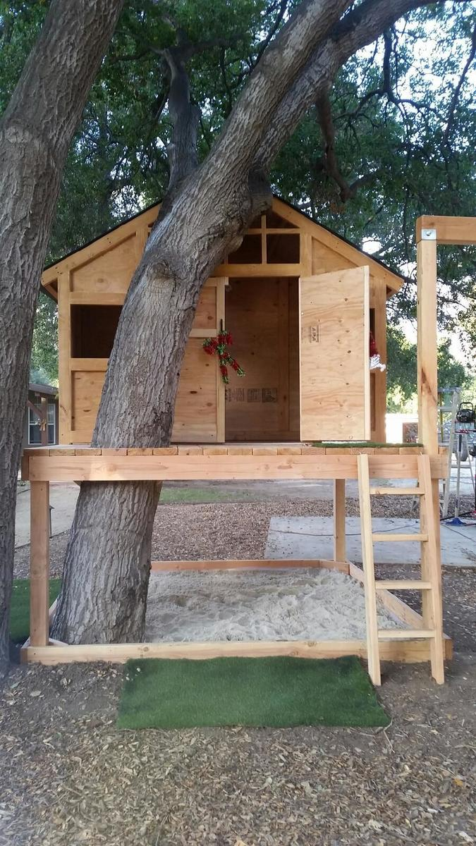 Free treehouse plans pdf for Free treehouse plans