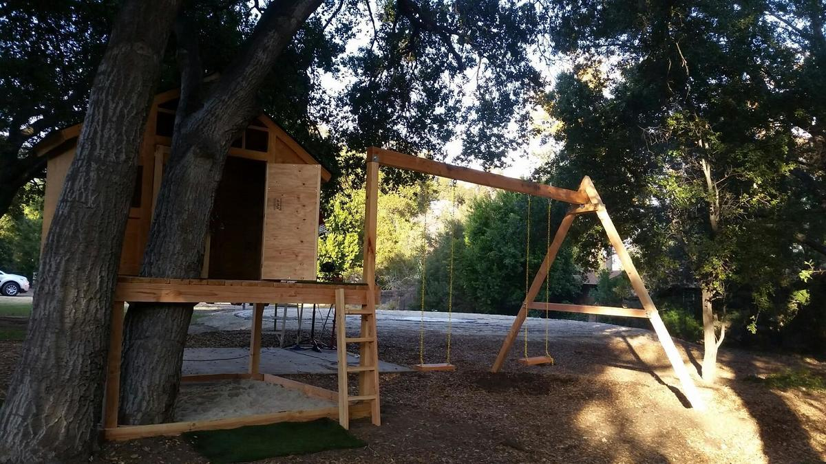 ana white treehouse playhouse diy projects