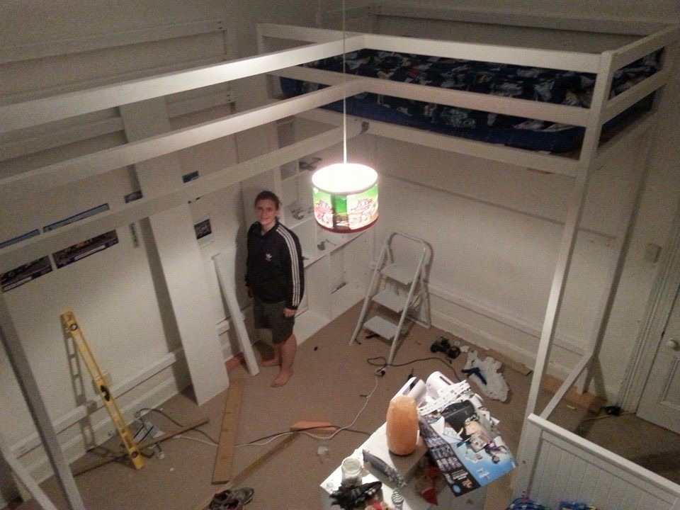 Ana White L Shaped Loft Beds Diy Projects