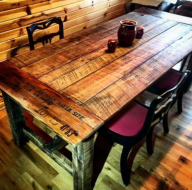 Ana White Shiplap Bomb Crate Farm Table Diy Projects