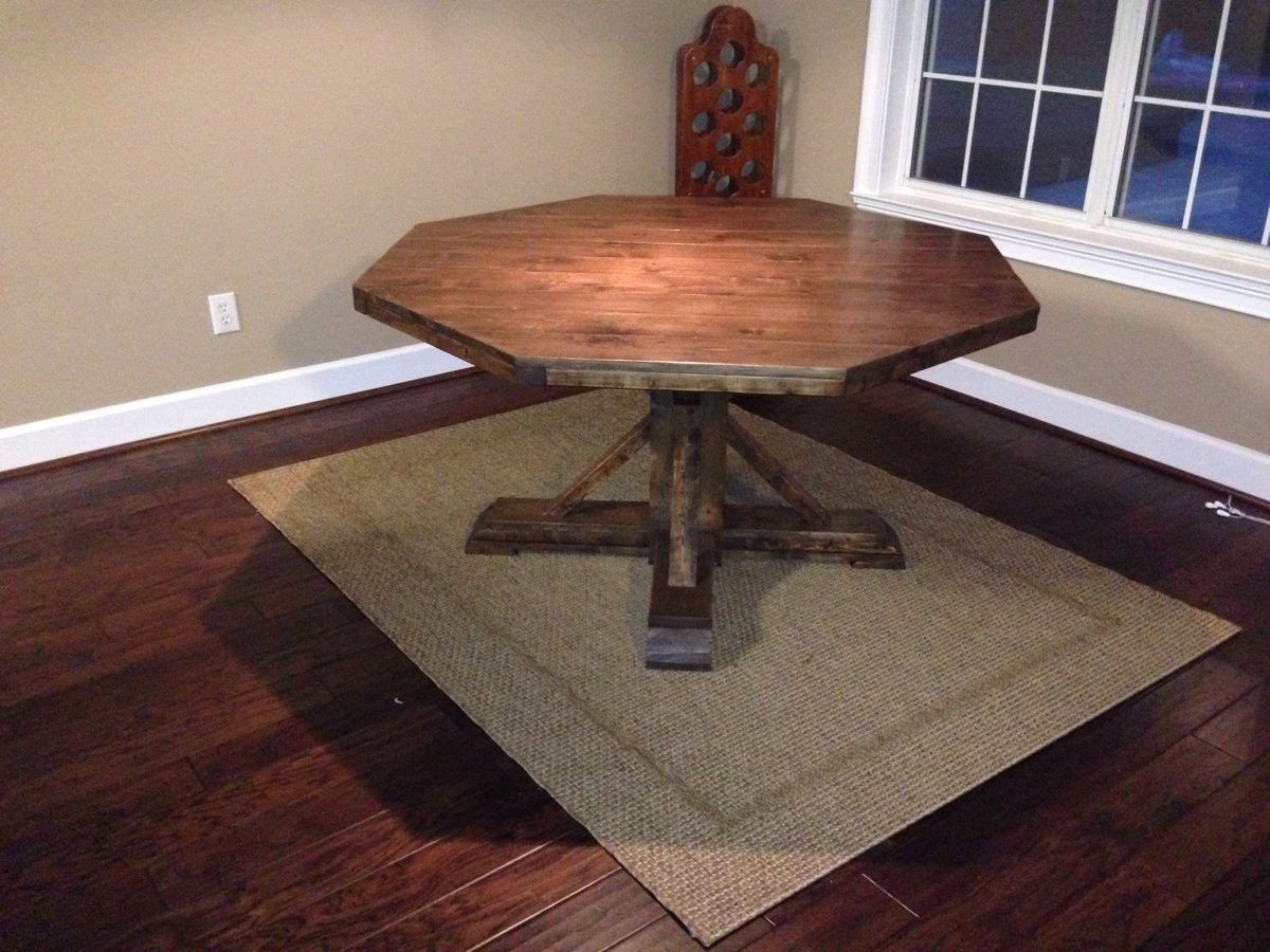 Ana White Octagon Table Diy Projects