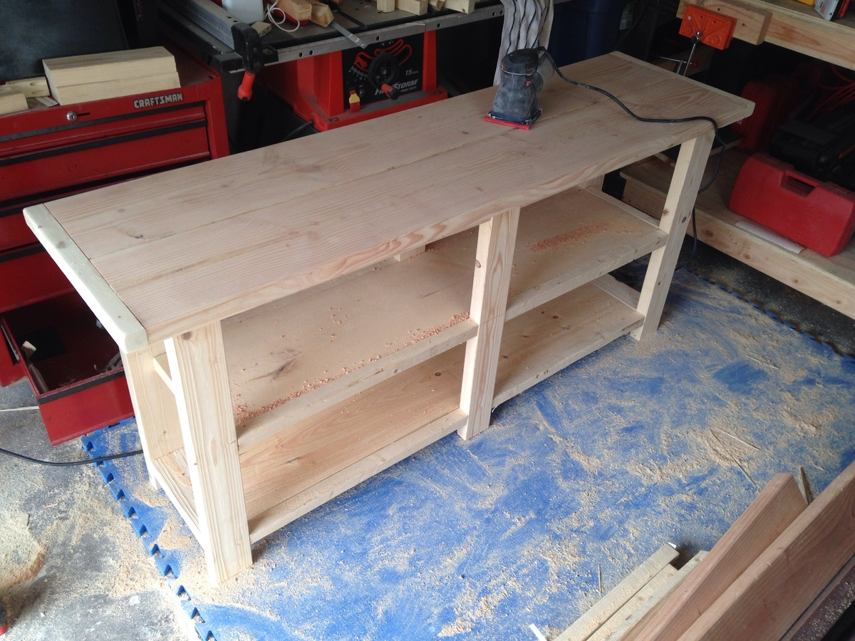 Rustic X Console Table Tv Stand Ana White