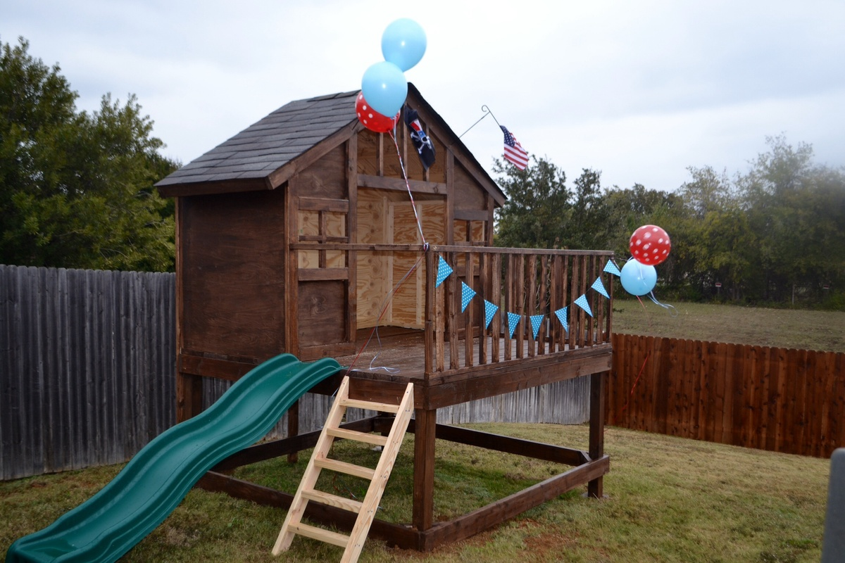 ana white craftsman playhouse diy projects