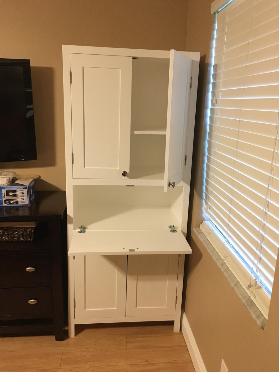 Ana White Secretary Storage Cabinet Diy Projects