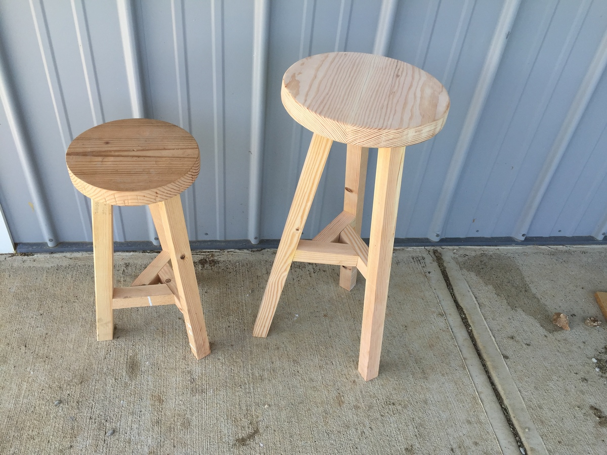 Ana White Three Legged Stool Diy Projects