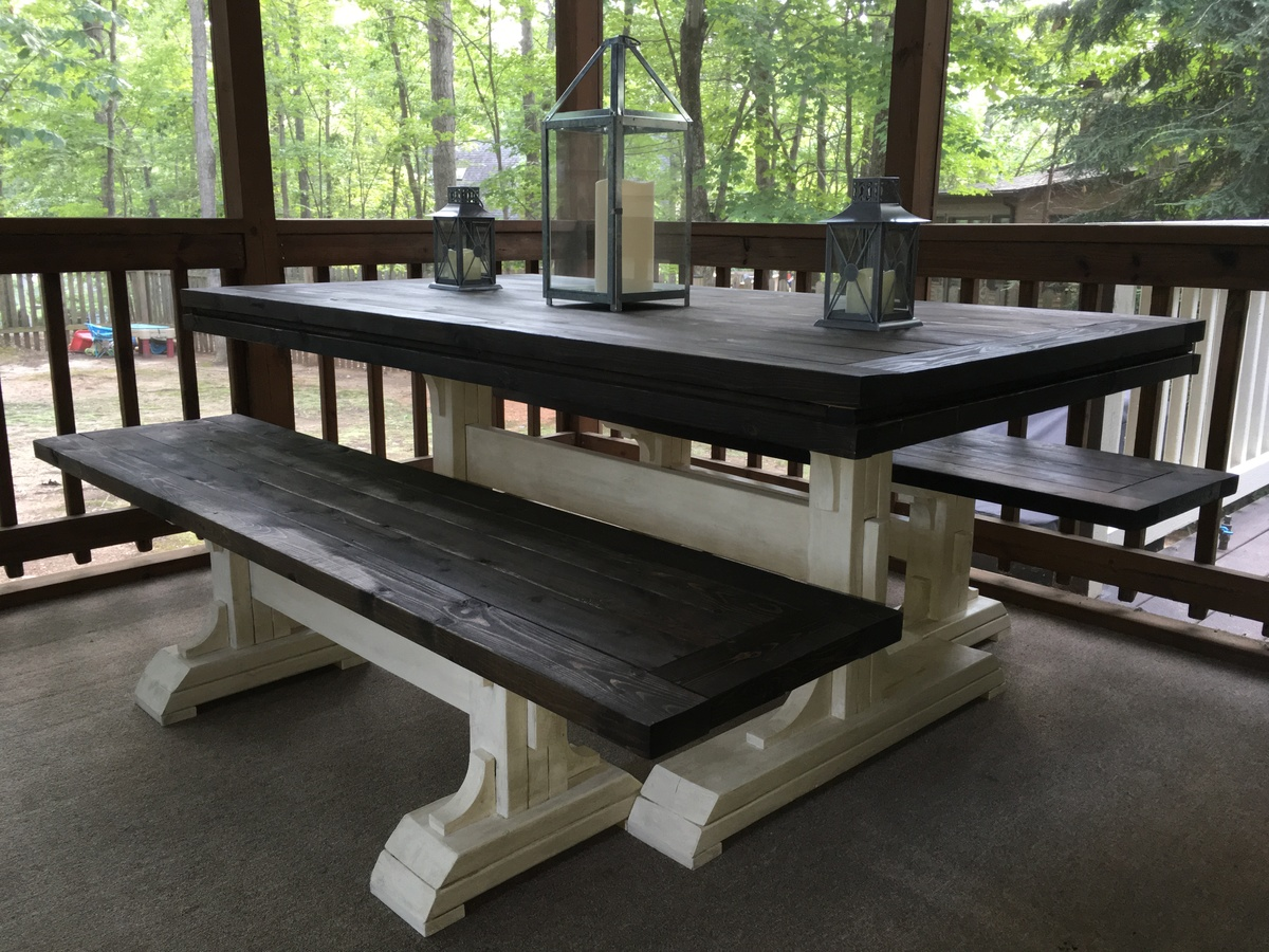 easy table choose to for steps barnwood farm your house kitchen wood