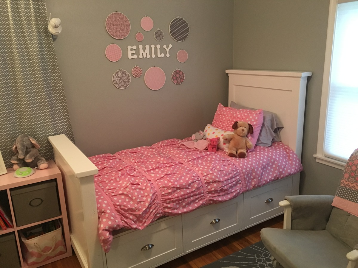 Ana White Twin Size Farmhouse Bed With Storage Drawers