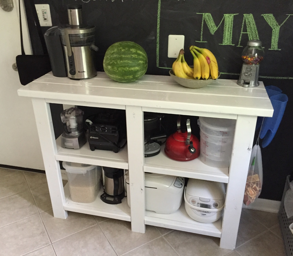 Ana White Kitchen Console Table Diy Projects