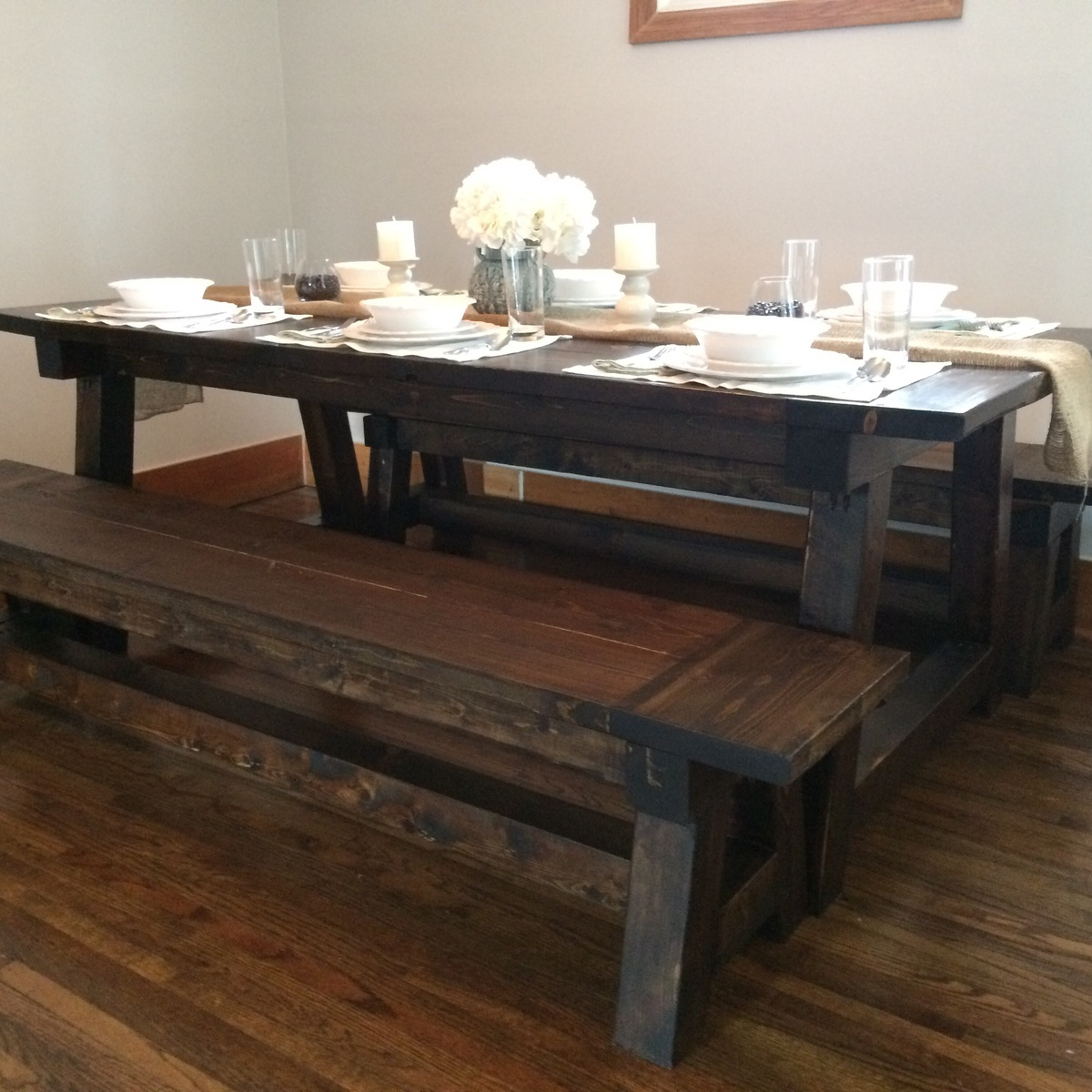 Build Your Own Coffee Table With Storage: Truss Table And Benches - DIY Projects