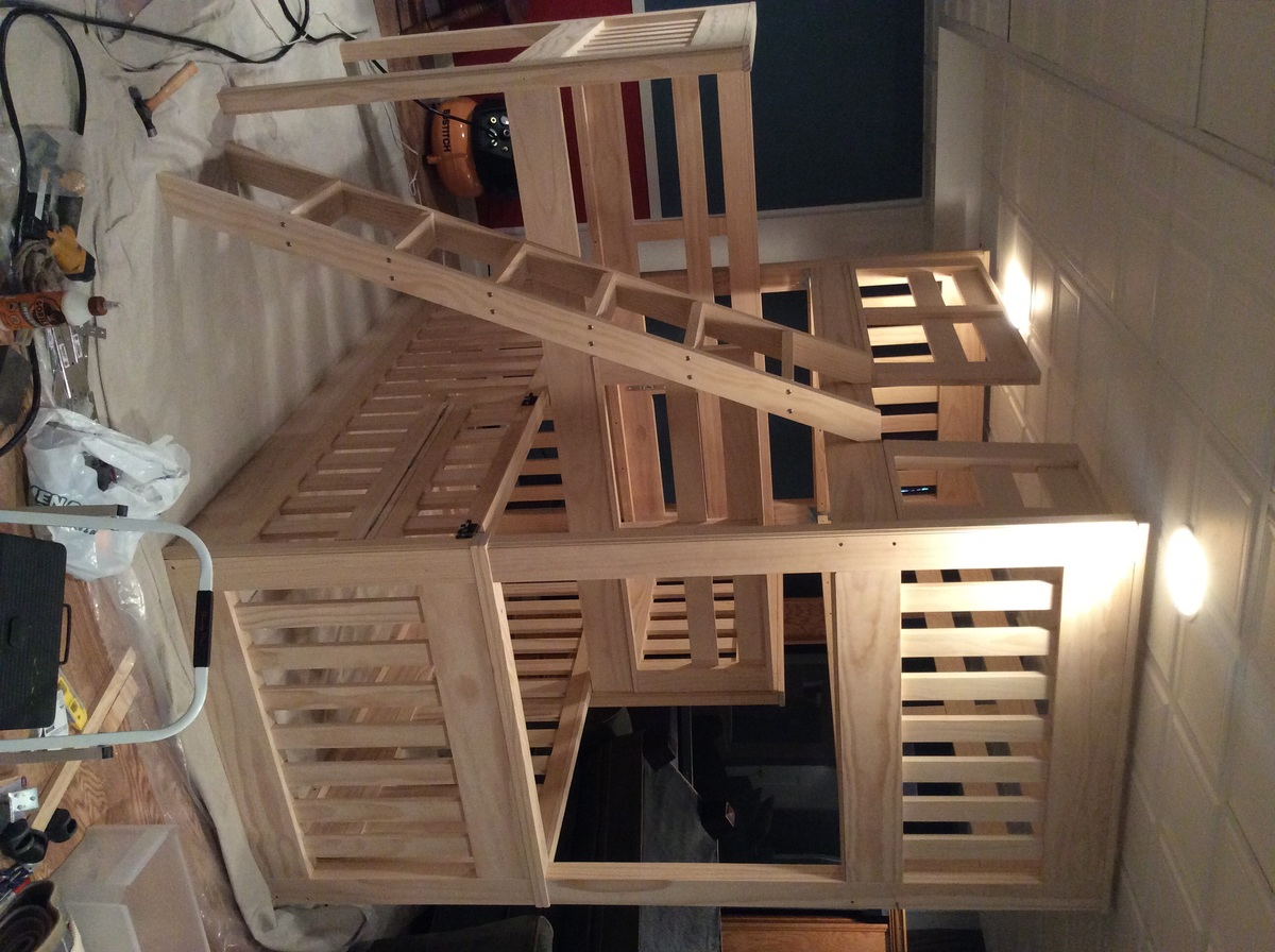 Triple Bunk Beds With Crib Ana White