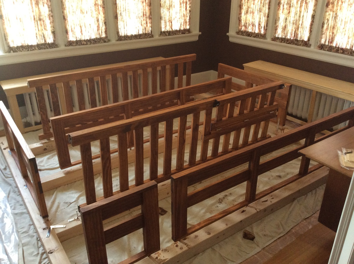 Ana White Triple Bunk Beds With Crib Diy Projects