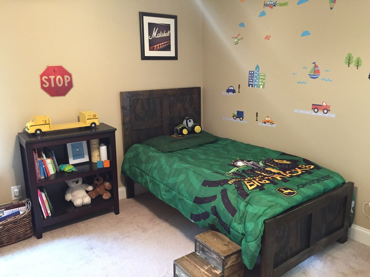 Picture of: Big Boy Bed And Steps Ana White