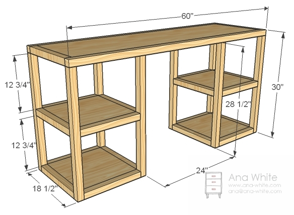Woodwork Desk Building Plans Pdf Plans