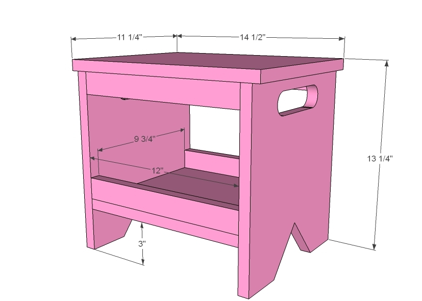 Ana White Easy Kids Bench Diy Projects