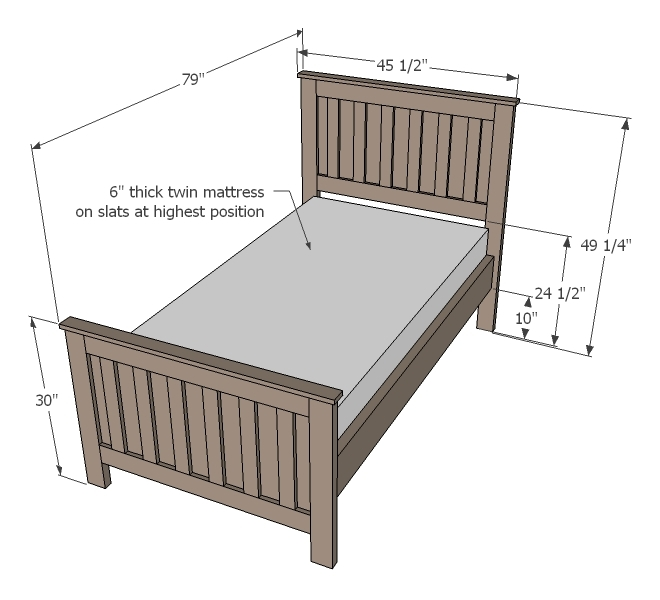 Kentwood Bed Ana White