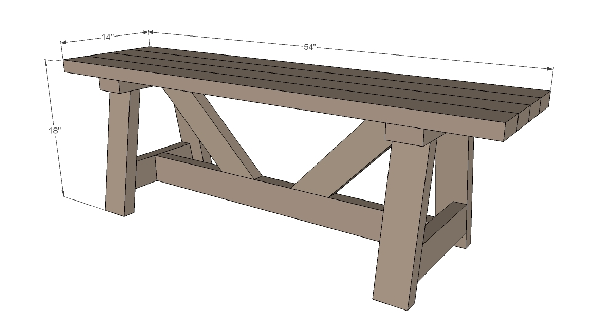 Wood bench plans 2x4 pdf plans for 2x4 stool plans