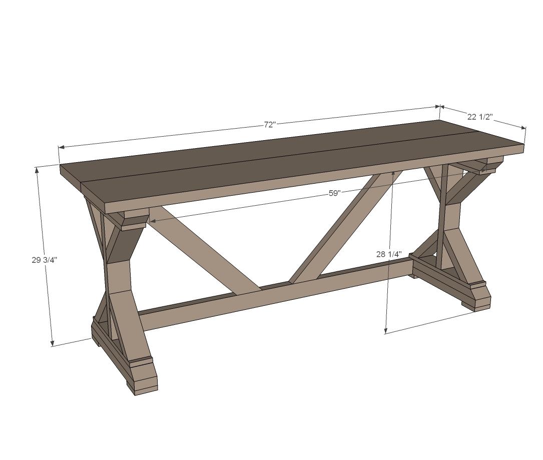 Unique Ana White | $55 Fancy X Desk - DIY Projects KM56