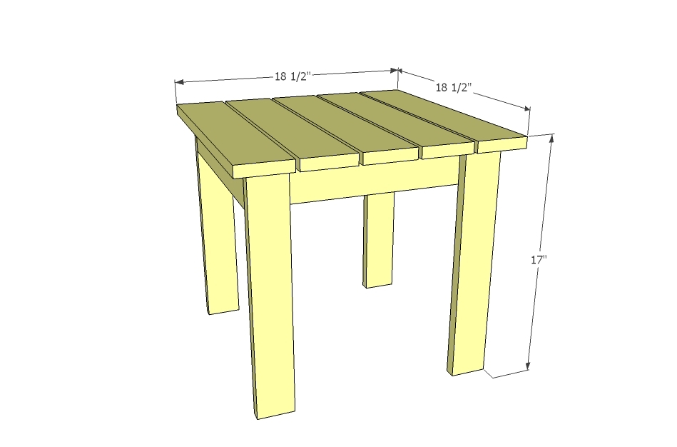 adirondack coffee table plans woodworktips On adirondack side table plans