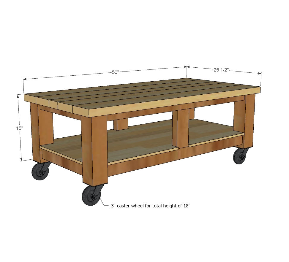 Taylors Coffee Table - DIY Projects