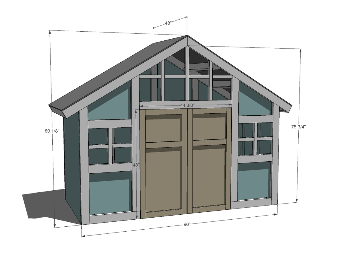 dimensions for playhouse