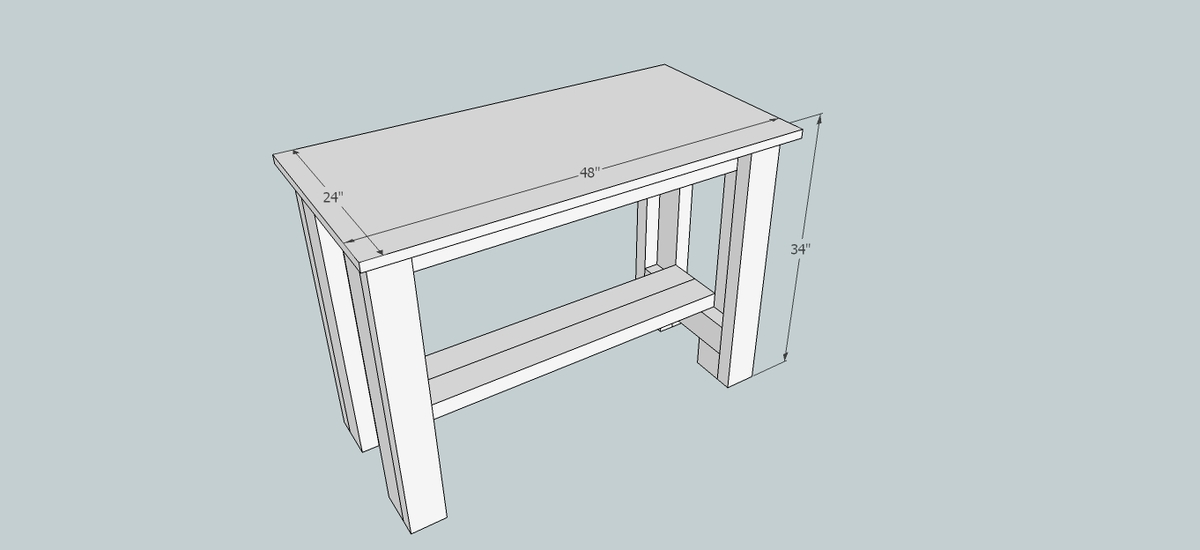 easy workbench plans