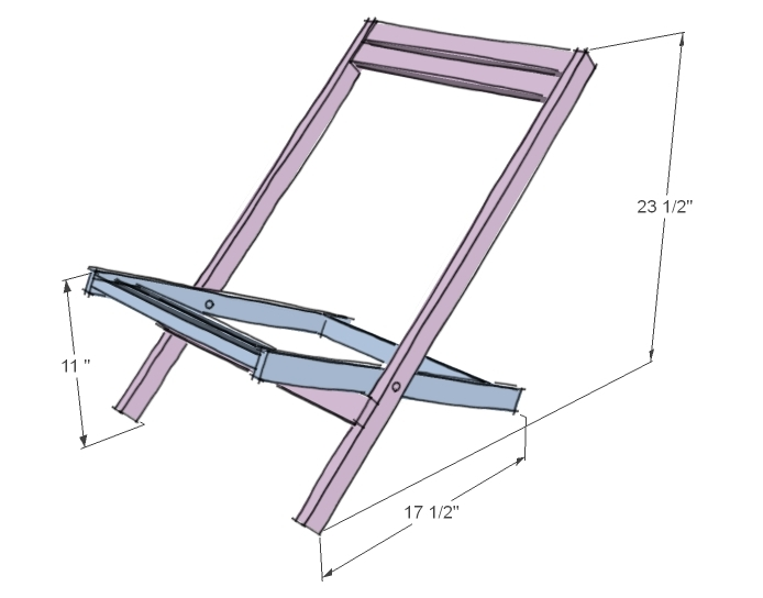Folding+Deck+Chair+Plans Folding Deck, Beach or Sling Chairs, Child ...