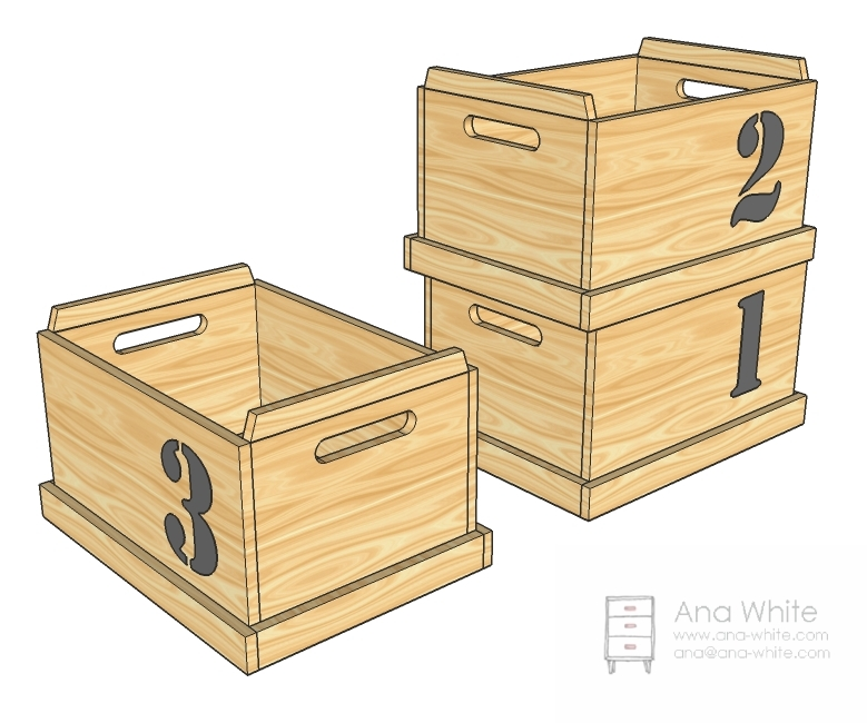 build your own wooden toy chest | Online Woodworking Plans