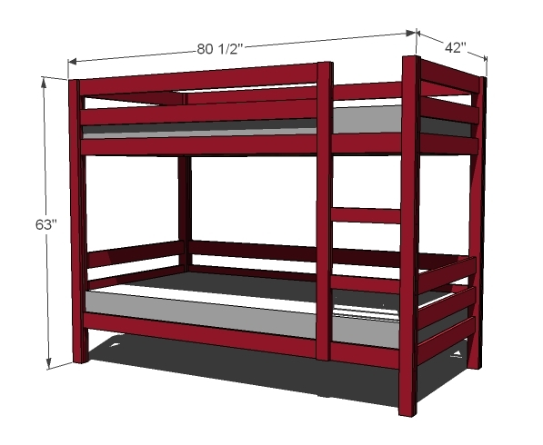Ana White | Classic Bunk Beds - DIY Projects