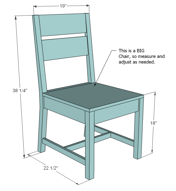 Ana White Classic Chairs Made Simple DIY Projects : classic chair plans wood make diy build pine 1 from www.ana-white.com size 610 x 663 png 24kB