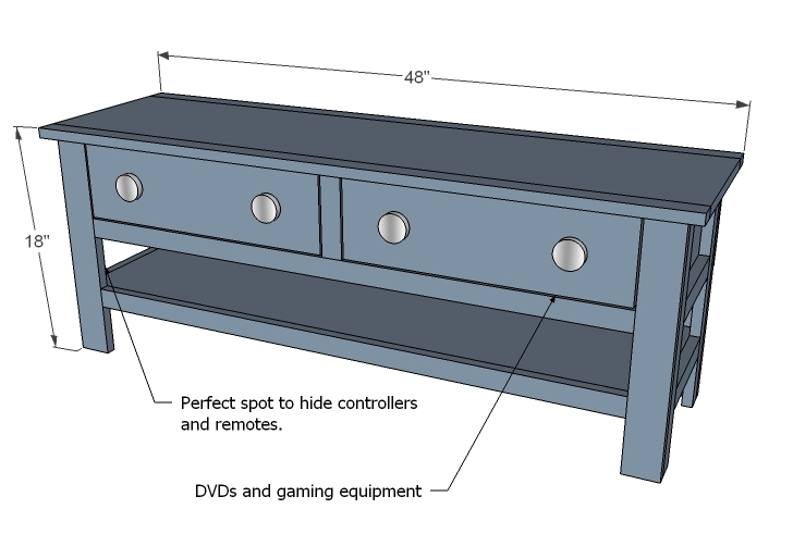 Coffee Table Dimensions Living Room