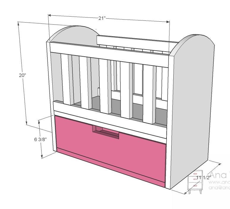 Baby Bed Mesurment : Baby Cradle Plans Dimensions Plans DIY Free Download kitchen cabinet ...