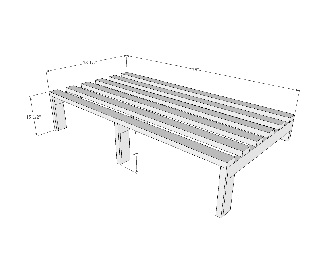 Twin Size Bed Dimensions Thickness