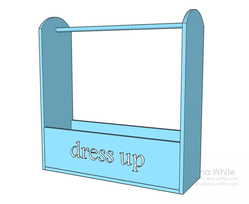 dress up storage dimensions diagram