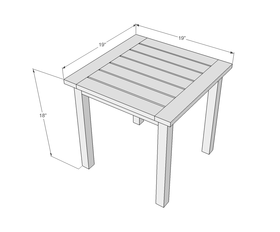 simple end table plans free – woodguides