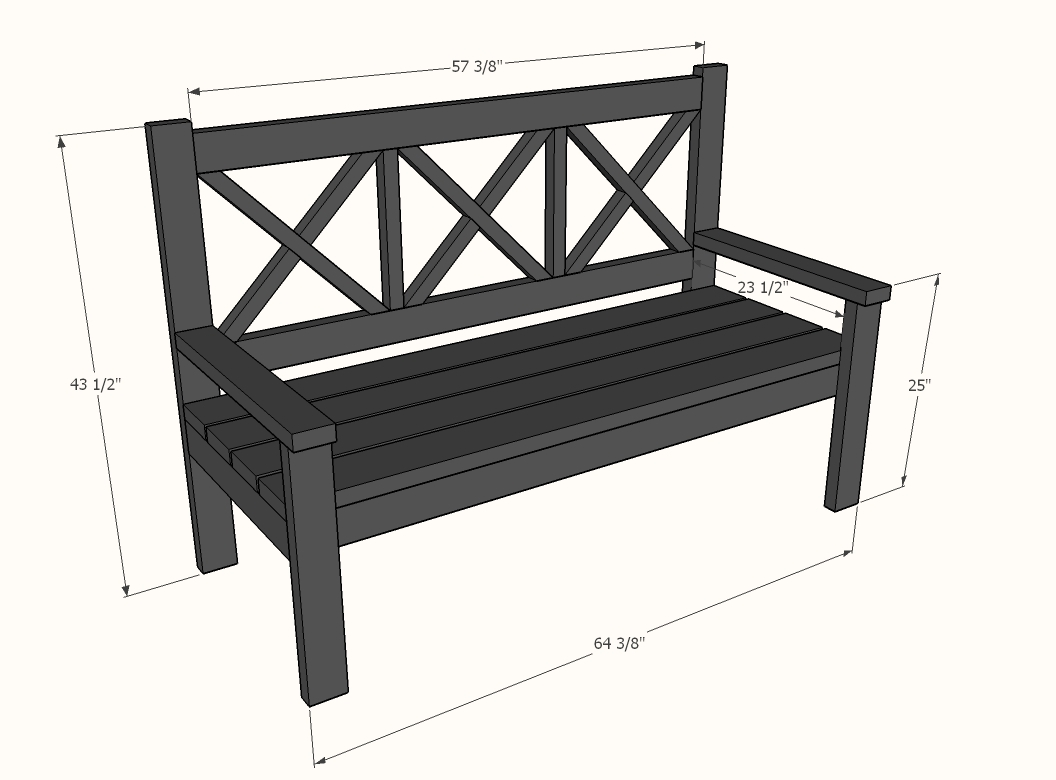 need measurments on how to build a pedicure bench
