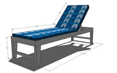 Outdoor Chaise Lounge Ana White