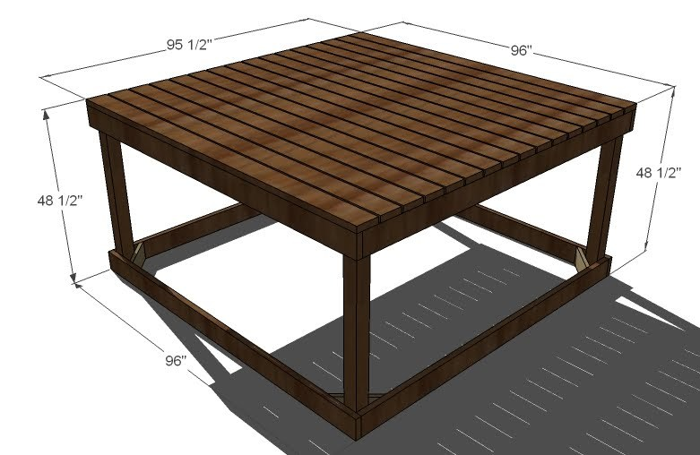 Ana White | Playhouse Deck - DIY Projects on