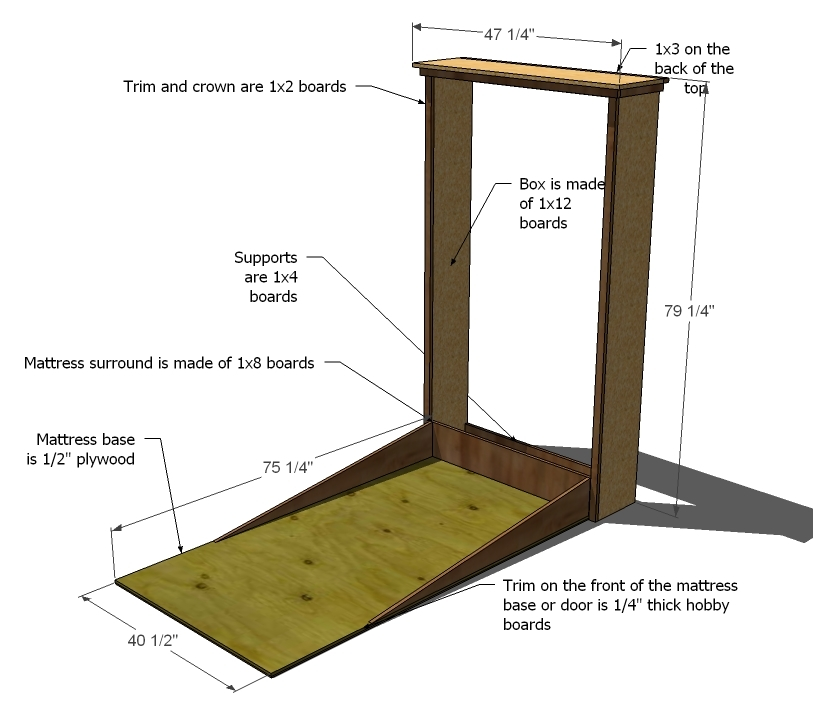 Plans A Murphy Bed You Can Build And Afford To Build