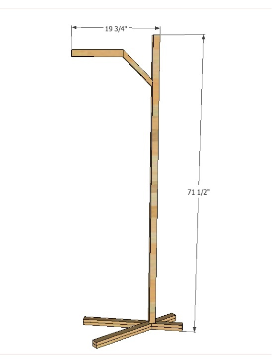 Nature Inspired Floor Lamp Ana White