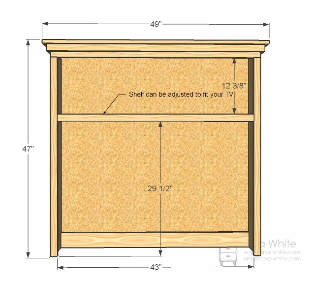 superb Diy Hutch Plans Part - 11: Dimensions: