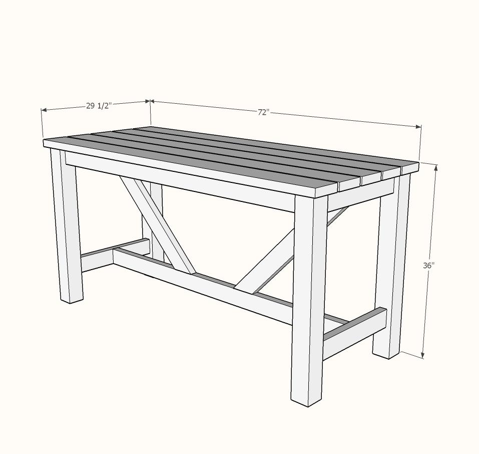 Prime Outdoor Bar Table Ana White Inzonedesignstudio Interior Chair Design Inzonedesignstudiocom