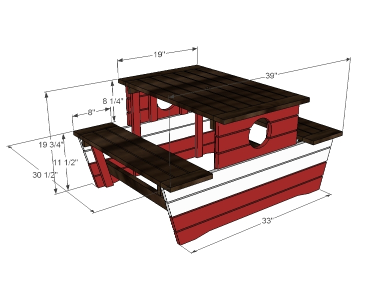 100+ [ Plans For A Picnic Table ] | Fold Up Picnic Table ...