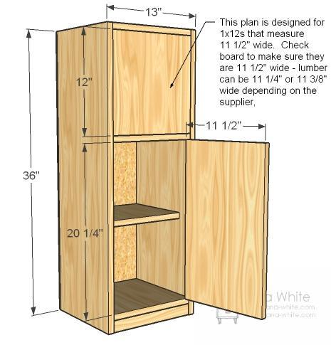 childrens kitchen fridge plans