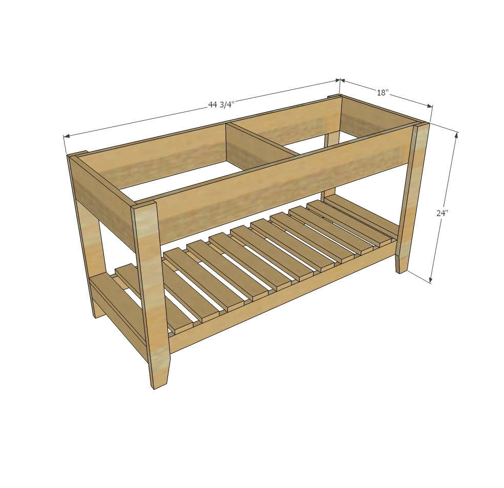 Sand And Water Play Table Ana White