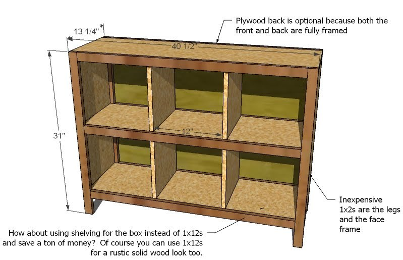 woodworking diy storage cube shelves plans pdf download