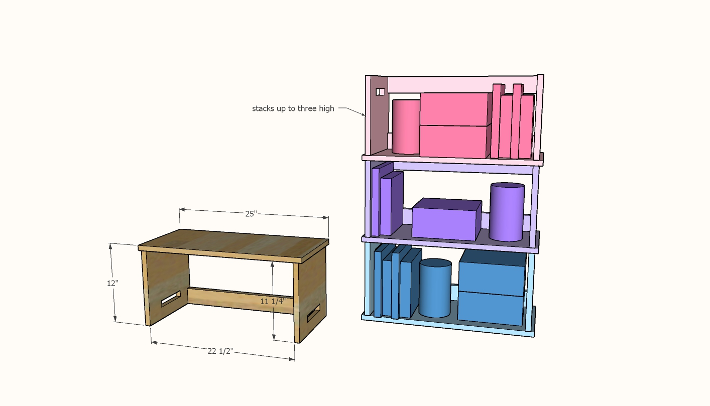 stacking lap desk plans